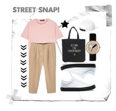 """Street style"" by ginasofi on Polyvore featuring Raf Simons, MANGO MAN, Vans, Nomad, NIKE, men's fashion and menswear"