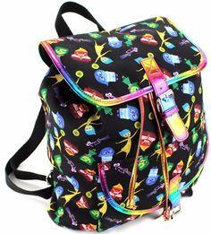 "a00c356573f Disney Inside Out 12 "" School Backpack Small Medium Book Bag – Emotion Blue"
