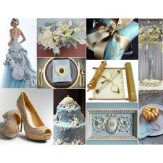 Ok, I really love the gold pumpkin name holder in this Cinderella wedding concept!