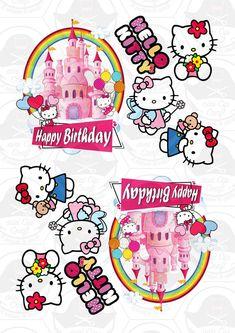 Bolo Hello Kitty, Hello Kitty Birthday, Cat Birthday, Happy Birthday Basketball, Hello Kitty Bedroom, Camo Wedding Cakes, Hello Kitty Pictures, Miss Kitty, Hello Kitty Collection