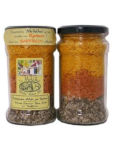 Three flavour Sea Salt w/ Saffron