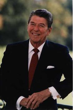 Ronald Wilson Reagan (February 6, 1911 – June 5, 2004) was the 40th President of the United States (1981–1989). Prior to that, he was the 33rd Governor of California (1967–1975), and a radio, film and television actor.