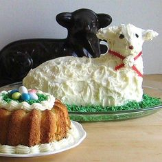 My family loves lamb cakes and it's a definite Easter symbol for us.