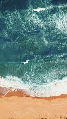 Breathtaking top view on the ocean - Live wallpaper for your iPhone XS from Everpix Live Sie sind an der - Sunflower Iphone Wallpaper, Ocean Wallpaper, Iphone Wallpaper Video, Apple Wallpaper Iphone, Homescreen Wallpaper, Cellphone Wallpaper, Lock Screen Wallpaper, Mobile Wallpaper, Wallpaper Backgrounds