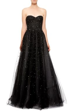 Monique Lhuillier Strapless Ball Gown - Preorder now on Moda Operandi