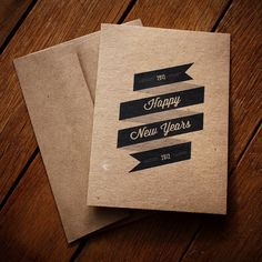 Happy New Years Card by baci