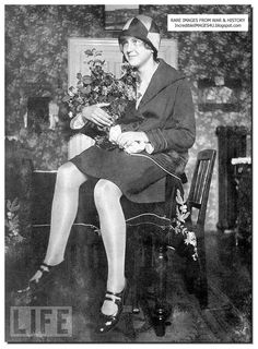 Eva Braun in March 1929 at her family apartment at Munich. She was 17 and she met Hitler that year.