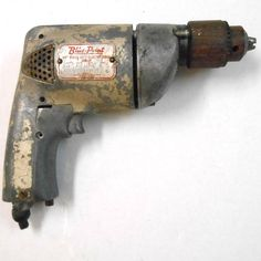 """VINTAGE PARTS REPAIR 3/8"""" Blue Point Heavy Duty drill EDB-38 tools Snap On Blue Point Tools, Vintage Parts, Rats, Drill, Electric, Hole Punch, Drills, Drill Press"""