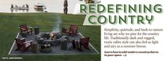 Restful Spots...fire pit, chairs, tree stump tables