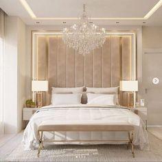 Luxury Bedroom Design, Room Design Bedroom, Home Room Design, Home Decor Bedroom, Fancy Bedroom, Modern Master Bedroom, Woman Bedroom, Luxurious Bedrooms, Decoration