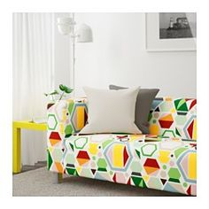 IKEA - KLIPPAN, Loveseat, Glottra multicolor, , Extra covers make it easy to give both your sofa and room a new look.10-year limited warrranty. Read about the terms in the limited warranty brochure.