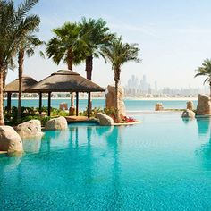The Sofitel Dubai The Palm is a 5-star luxury hotel in Dubai which combines Arabic design features with exquisite French. The hotel is located next to Dubai's The Walk and the Jumeirah Beach.