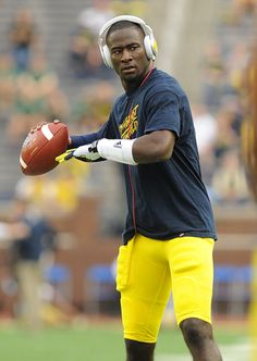 QB Devin Gardner - The man who SHOWED up and beat ND in their last game as rivals!!!!