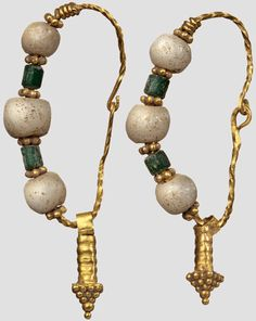 Earrings - 7th Century.  Byzantine.