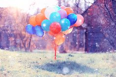 Image result for balloons nature