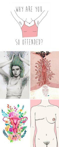 Femininity - illustrations Eric Cartman, Anarchism, Body Positive, Power Girl, Bullets, Erotic Art, Love Art, Bullying, Printable Art