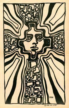 Wes Wilson for San Francisco Express Times Kunst Inspo, Art Inspo, Art And Illustration, Illustrations, Wes Wilson, Arte Punk, Hippie Art, Wow Art, Psychedelic Art