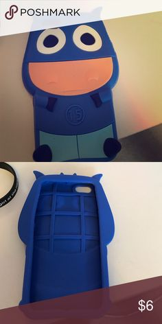 Blue cow iPhone 5/5s/5SE/5c case Blue cow case I bought from a store on the jersey shore Other