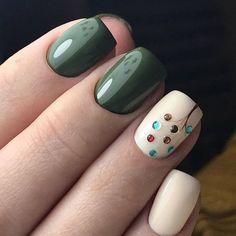 69 cute and colorful easter nail art designs for spring 2019 15 Autumn Nails, Spring Nails, Summer Nails, Perfect Nails, Gorgeous Nails, Easter Nail Art, Pretty Nail Art, Green Nails, Stylish Nails