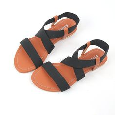Amazon.com: 2016 Crisscross Strap Flat Sandals Shoes Black for Womens Summer Wear: Shoes