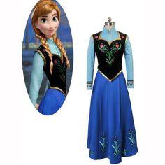 Frozen costume. Ana (Riley)