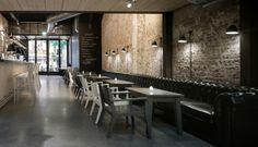 Iluminación restaurantes. Restaurant