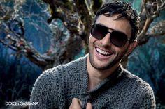 Noah Mills + Evandro Soldati for Dolce & Gabbana Fall/Winter 2014 Eyewear Campaign image Dolce Gabbana Eyewear 2014 Fall Winter Campaign 004