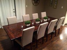 Custom 9ft (108 inches) Rustic Farmhouse Table/ Farm Table
