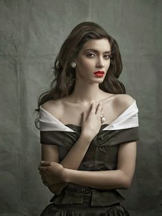 Diana Penty's Stylish Photoshoot in Red Lips