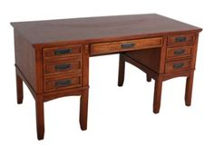 Ashley Cross Island Leg Desk With storage $429.99.  SKU: 391342-P.   There are also 2 different sized file cabinets to match and other pieces in this collection.   http://www.homemakers.com/ashley-cross-island-leg-desk-with-storage-391342?