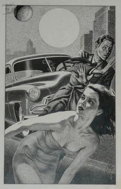 Virgil Finlay Art.