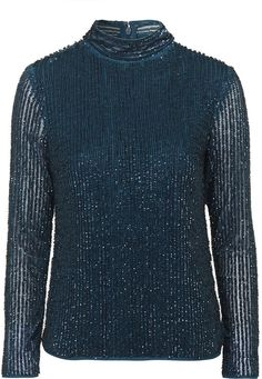 Womens kingfisher top from Topshop - £75 at ClothingByColour.com