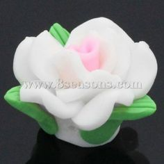 Buy wholesale clay spacer beads flower multicolor 26x23mm,hole:approx 2.3mm,20pcs at low price , beads on sale for wholesale prices at 8seasons.com