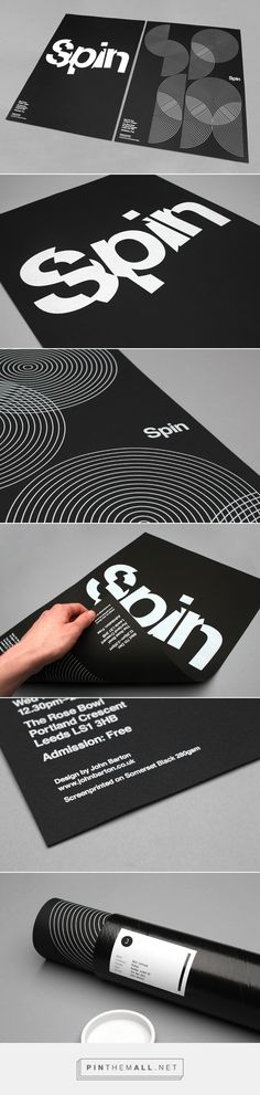 Poster with typographic inspiration...