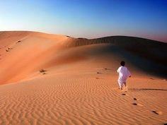 O DESPERTAR  DE UMA  ALMA!: Cada um tem seu deserto a atravessar por Jean-Yves...