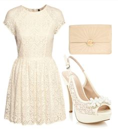 Cute outfit for church! just without the heels. Id wear flats most likely