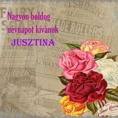 boldog névnapot Jusztina