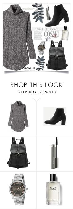 """""""Solace"""" by violet-peach ❤ liked on Polyvore featuring MAC Cosmetics, Michael Kors and Bobbi Brown Cosmetics"""