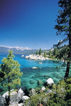 Nevada Lake Tahoe--only 2miles from where we lived :)