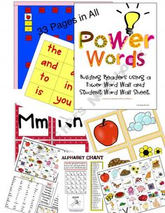 Viewing 1 - 20 of 28490 results for power words word wall kit Classroom Bulletin Boards, Classroom Walls, Classroom Ideas, Classroom Organization, Classroom Management, Powerful Words, Language Arts, Literacy, Alphabet