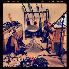 Time to record some tracks. @RockProdigyLive