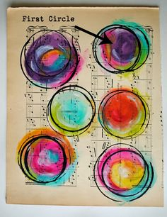 Painted Circles Tutorial
