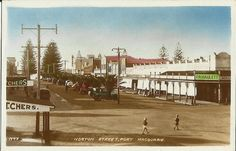 """FROM our weekly """"Historical Matters"""" column comes this collection of photos from Port Macquarie in days gone by. Old Photos, Vintage Photos, Port Macquarie, Coast, Australia, Explore, Street, Postcards, Basement"""