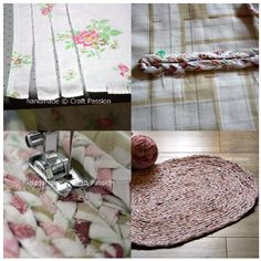 A #recycle  #braided #ragrug http://www.craftpassion.com/2010/03/recycle-tutorial-braided-rag-rug.html