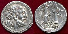 Ancient Coins - ROMAN REPUBLIC  211-208 AD  Victoriatus