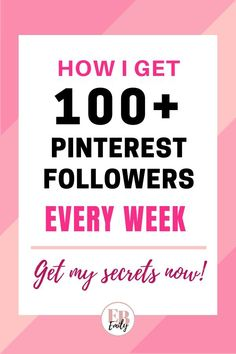 Want to get 100+ Pinterest followers a week? Click to read how to can get more Pinterest followers today with these easy steps. Find out how you can get more Pinterest followers and reach more people on Pinterest now! #pinteresttips #pinterestforbeginners #getmorefollowers #socialmedia #socialmediatips Social Media Trends, Content Marketing, Social Media Marketing, Social Advertising, Marketing Tools, Affiliate Marketing, Entrepreneur, Business Ethics, How To Get Followers