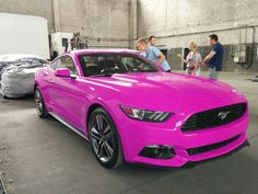 Pink Ford Mustang 2