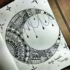Pen-and-ink designs, something interesting to make the eye out of instead of watercolor?