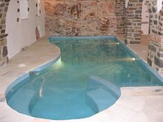 Interior private swimming pool