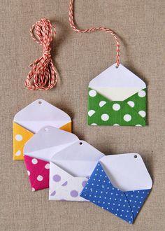 Kit Tags mini-envelopes poás - Zoopress